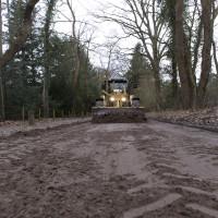 Zandwegen kwetsbaar door weersinvloeden