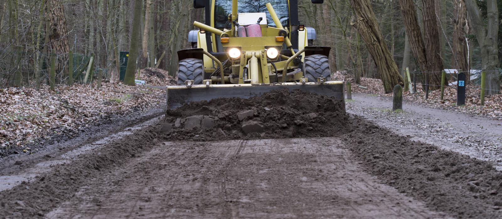 Zandwegen kwetsbaar bij winterse omstandigheden