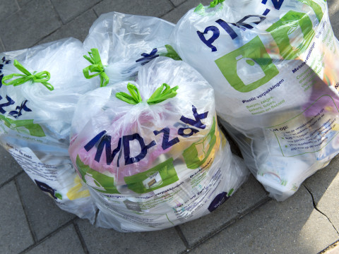 Gebruik transparante zak voor PMD