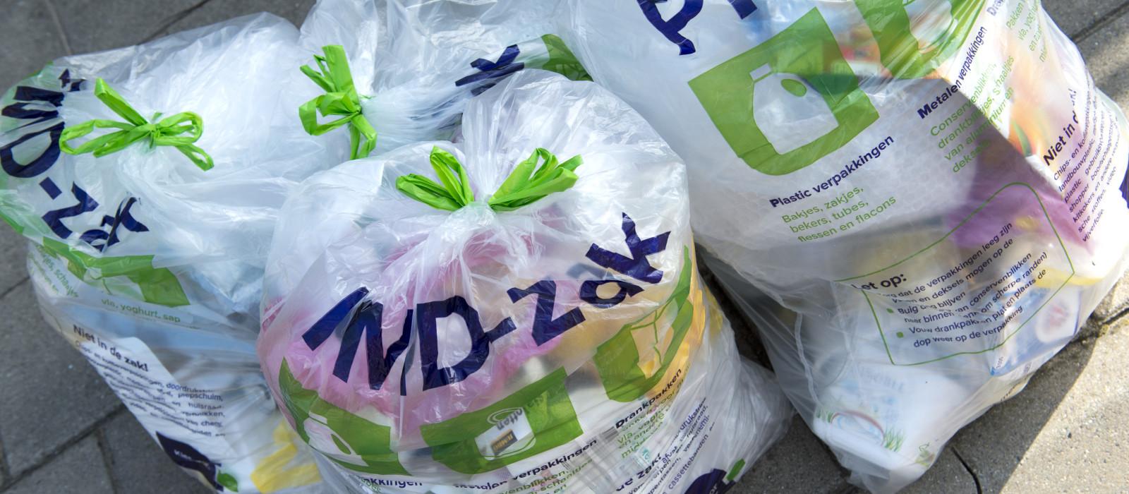 Wijziging inzameldagen PMD-zakken