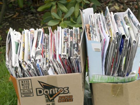 Wijziging inzameling oud papier Gorssel
