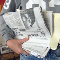 Inzameling papier en karton