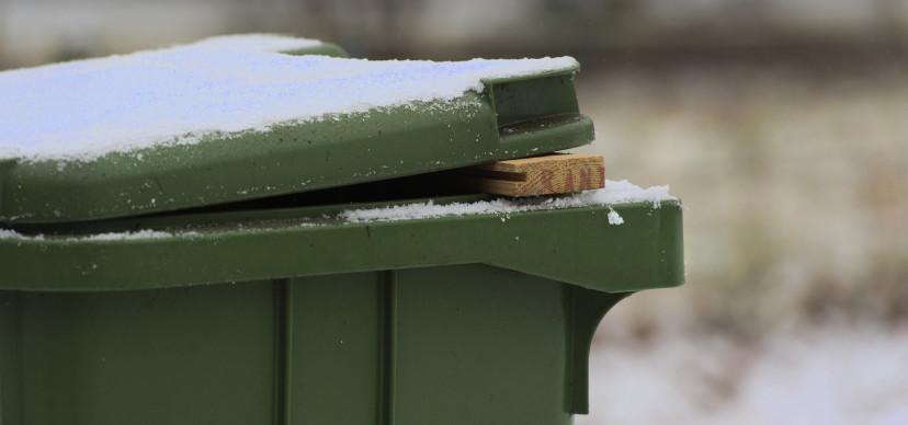 Wintertips voor uw container