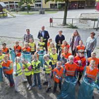 Prins Willem Alexander-school en De Branink gaan voor een schone wijk