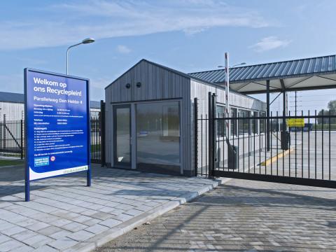 Nieuw Recycleplein en Stadswerf geopend
