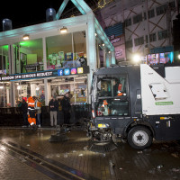 Circulus-Berkel en Van Gerrevink houden Marktplein schoon