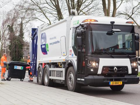 Duurzame inzameling met de Renault Trucks D-Access Narrow Track
