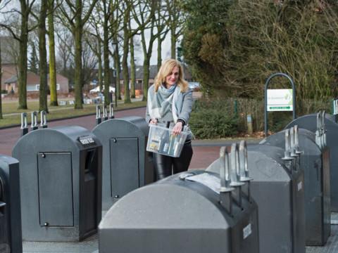 Extra milieuparkjes en containers