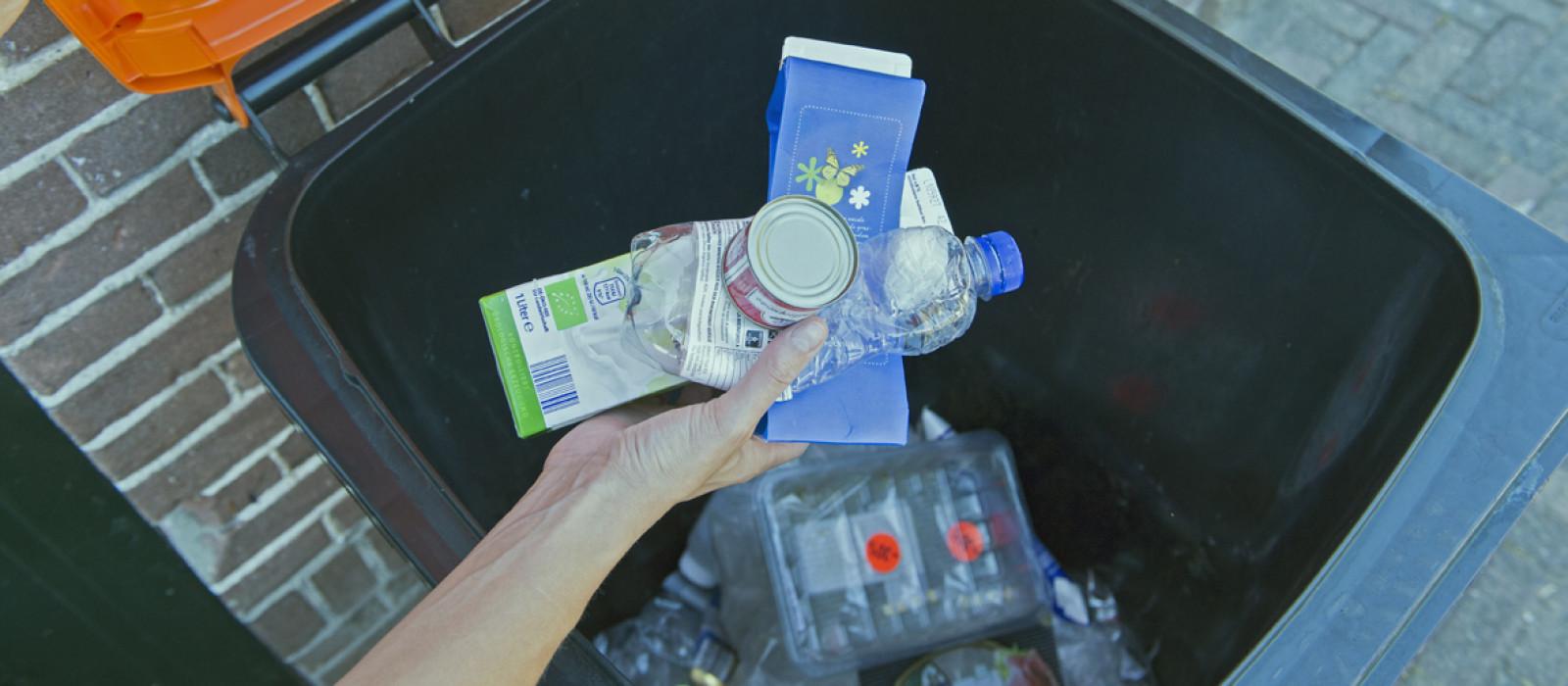 Zelf afval wegbrengen