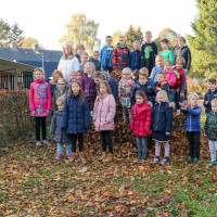 Looschool en Hovenschool winnen Bladverzamelwedstrijd 2018