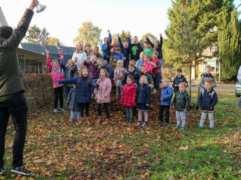 Bladverzamelwedstrijd Deventer scholen in volle gang!