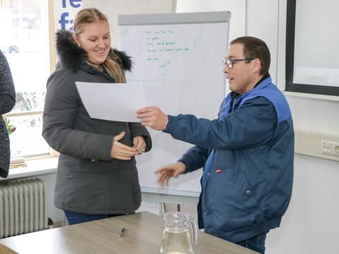 ROC-leerlingen halen certificaat bij Cambio Buurtbeheer