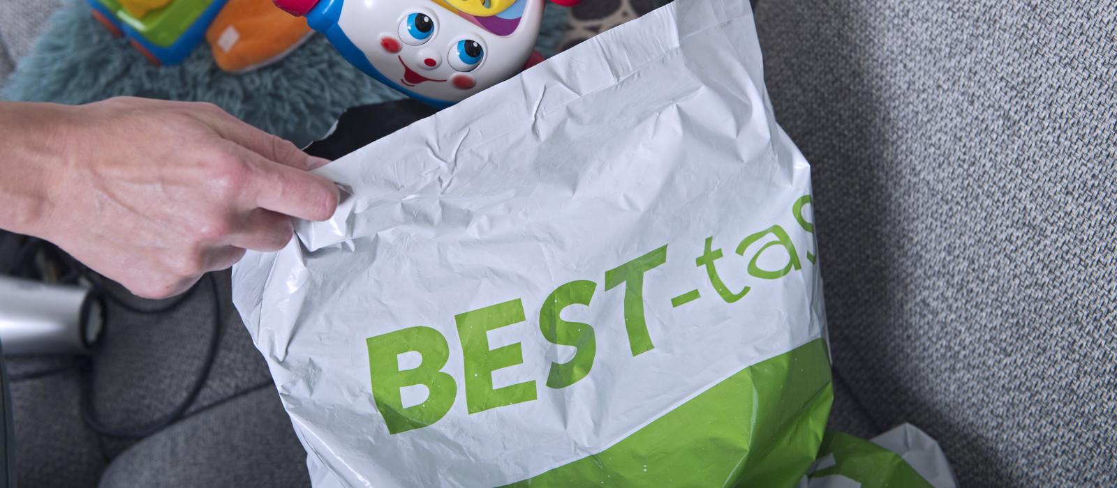 BEST-tas en glas niet meer aan huis opgehaald