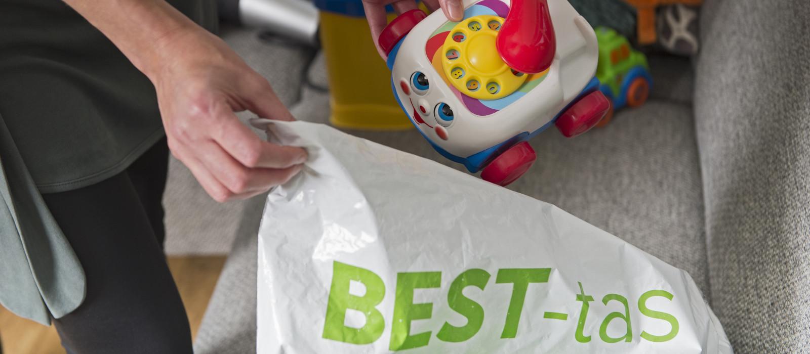 BEST-tas nu ook verkrijgbaar bij 't Warnshuus