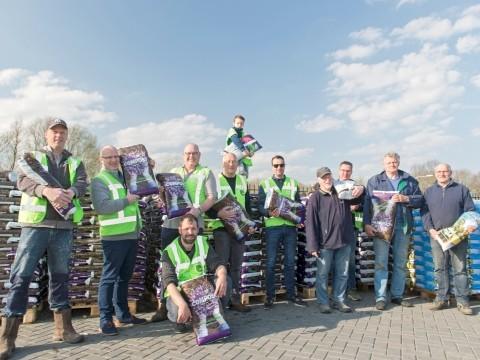 Drukte op zonnige Compostdag Doesburg