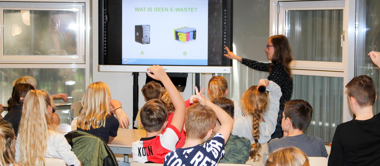 E-waste race van start - Leuk en leerzaam inzamelen van elektronica