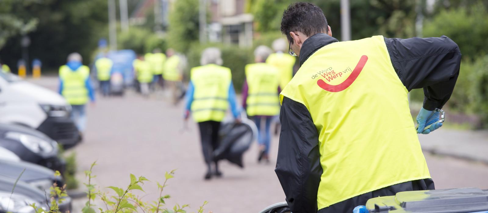 Activiteiten World Clean Up Day in Deventer