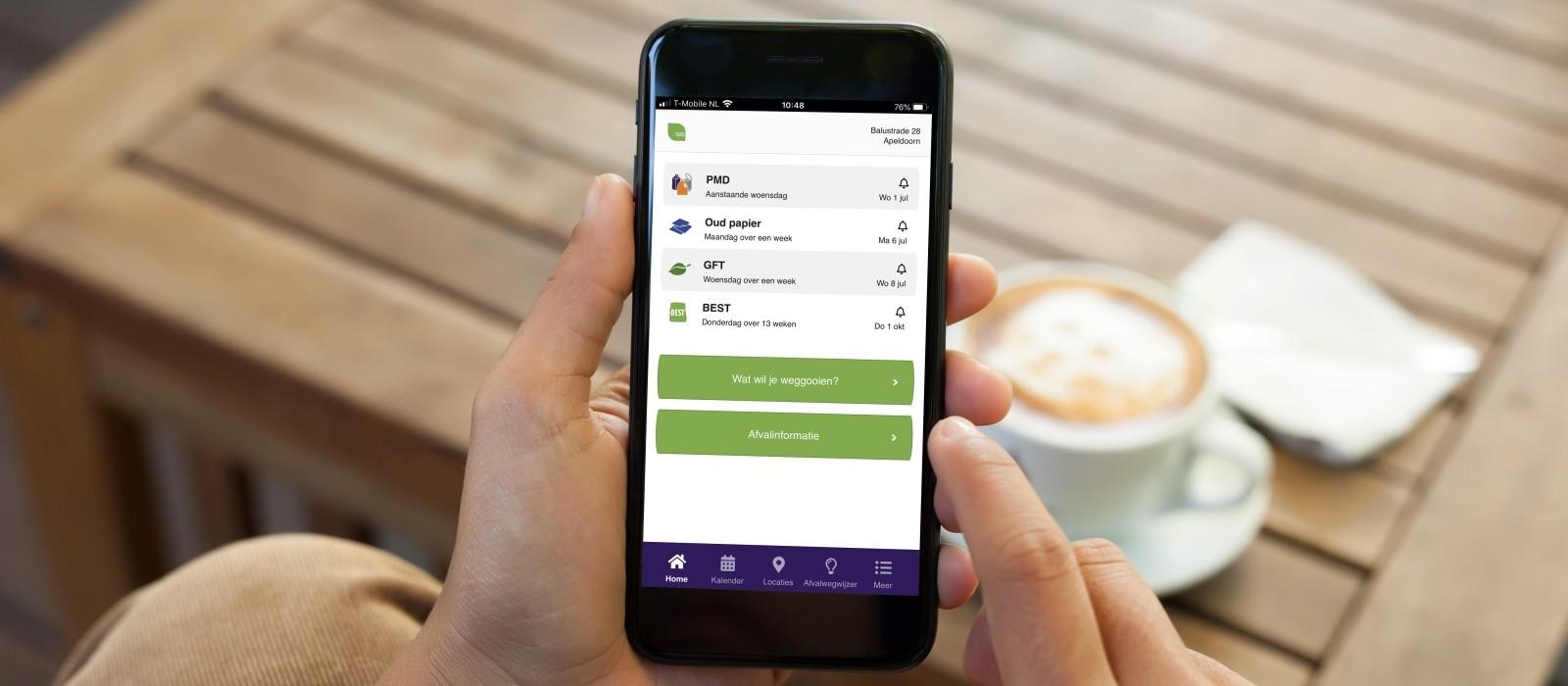 Update Afvalvrij App brengt verbeterde schermen