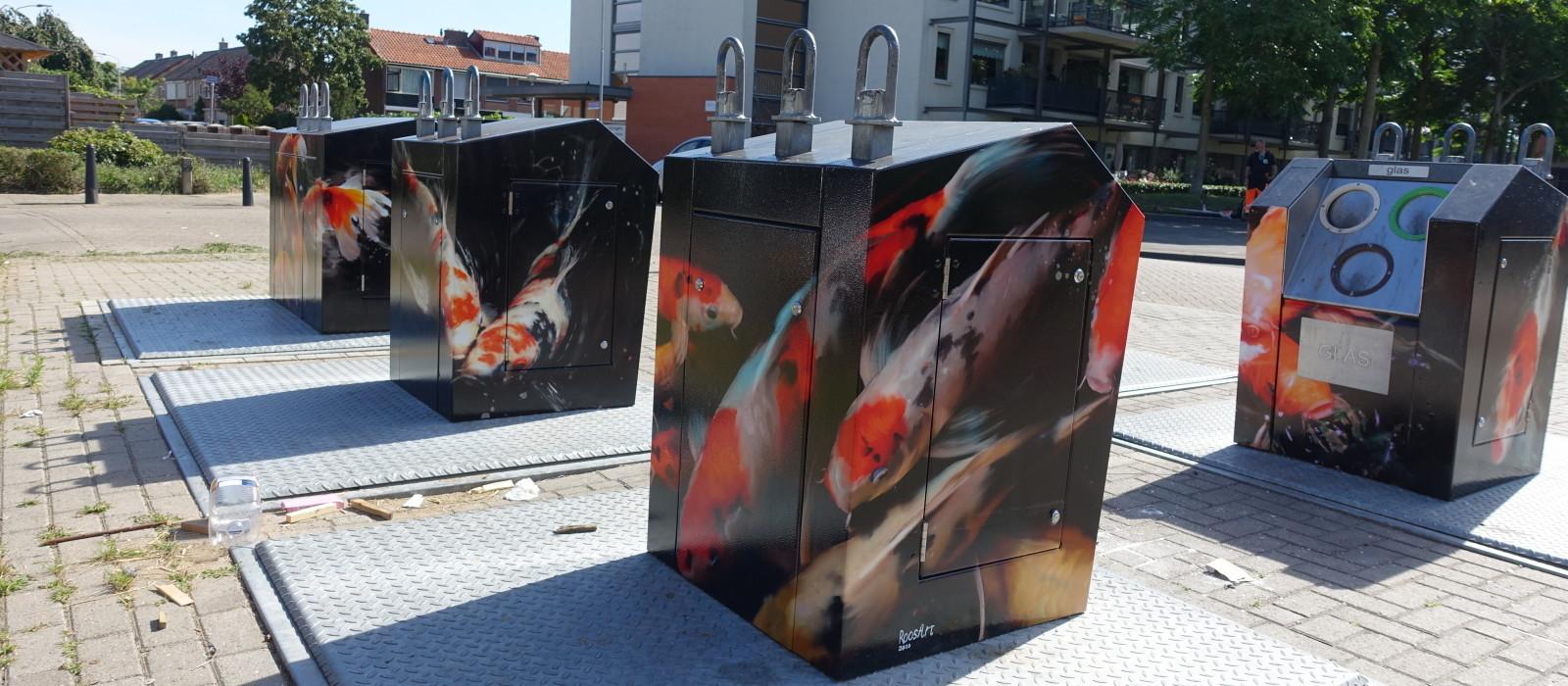 Milieupark omgetoverd tot kunstwerk