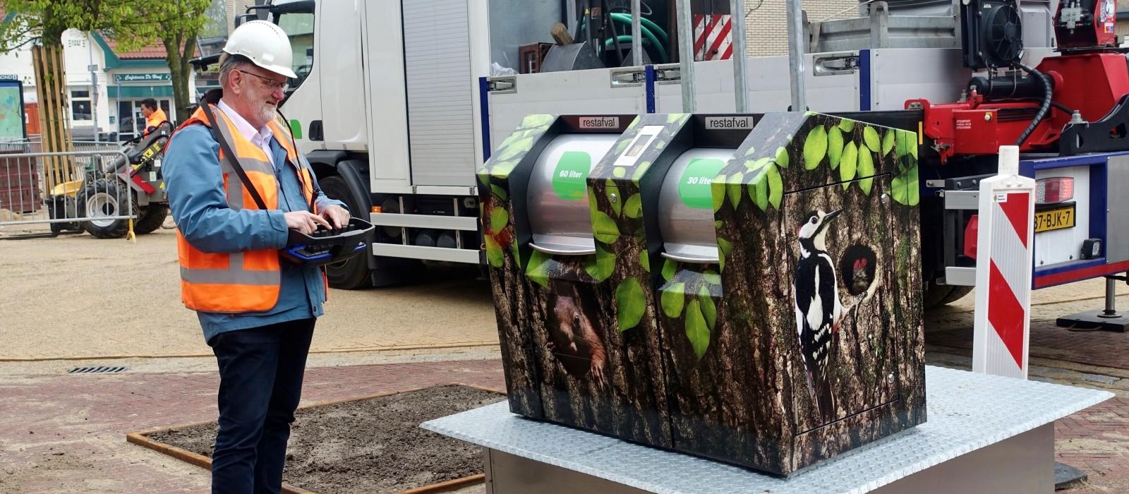 De mooiste container van heel Nederland staat in Vaassen