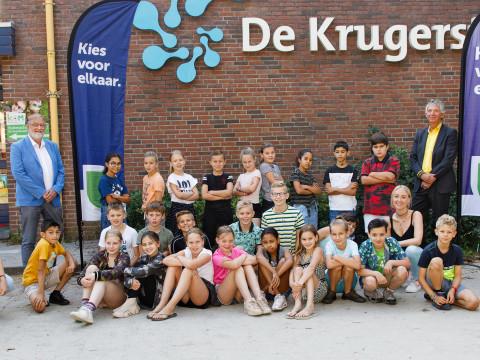 De Krugerstee trapt E-waste race 2021 af met wethouder Jan Aalbers