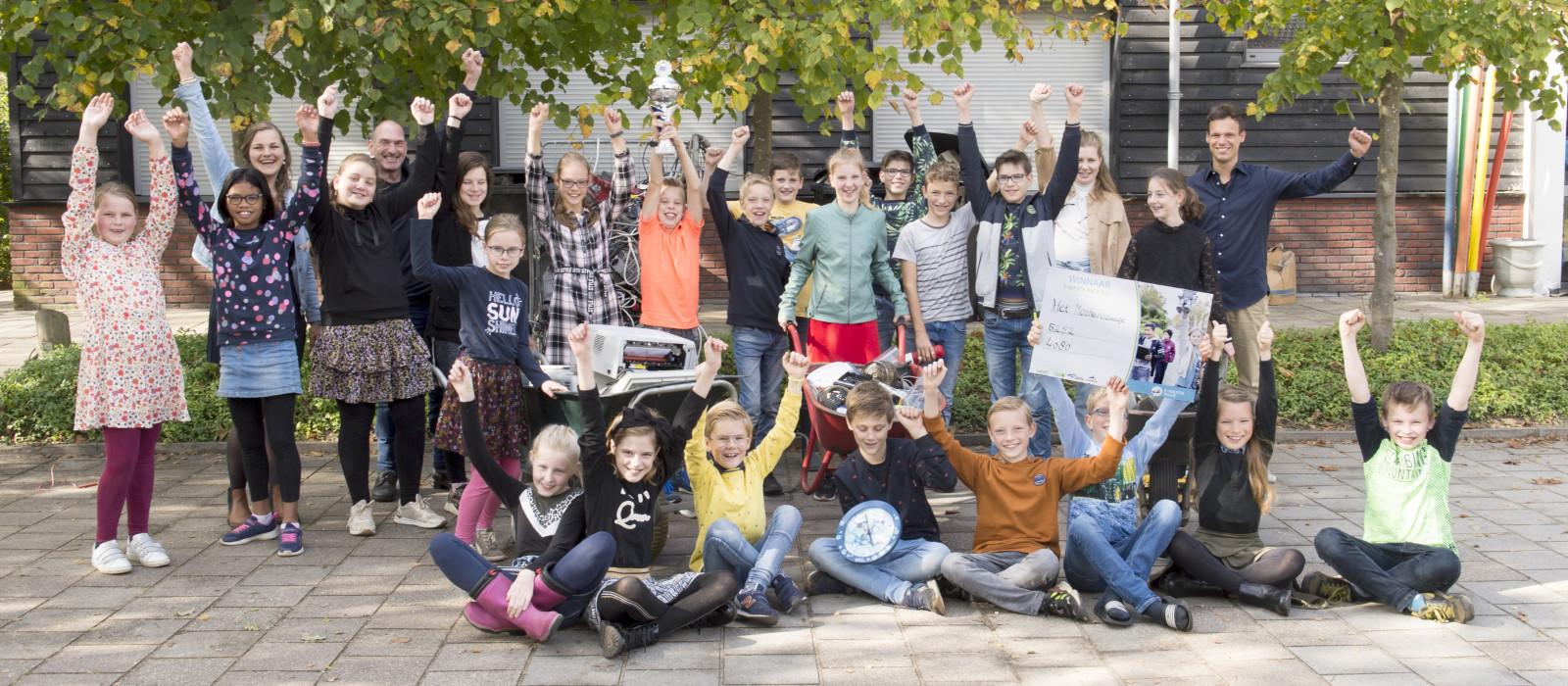 Het Mosterdzaadje winnaar E-waste Race 2021!
